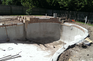 Pool Construction Process 11