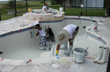 Pool Construction Process 17
