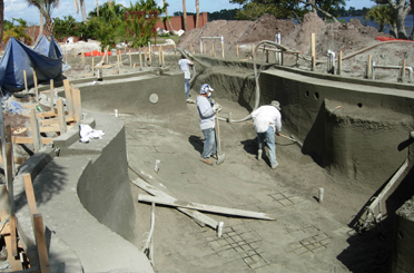 Pool Construction Process 6