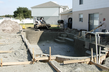 Pool Construction Process 8