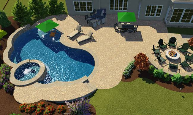 3d pool design - 3d gallery - encisos pool construction