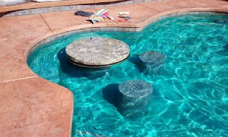 Swim-up Bars & Table Tops custom design